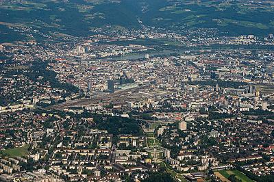 Bild von der Stadt Linz in Österreich