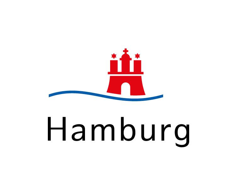 Logo of the City of Hamburg Germany