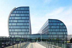 Bild von Rivergate, einem Gebäude in Wien neben der Donau