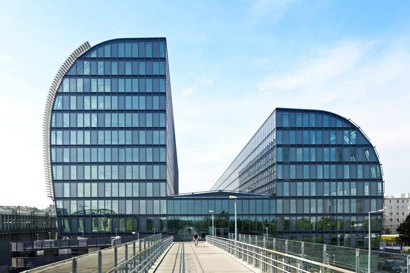 Foto des Gebäudes Rivergate in Wien
