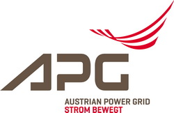 Logo of APG, Austrian Power Grid