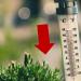 Thermoter mit Temperatur über 30 Grad Celsius